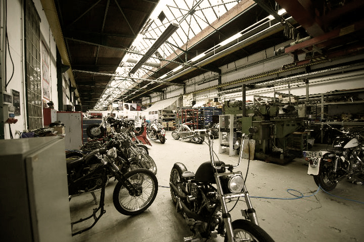 US Motorcycles Werkstatt